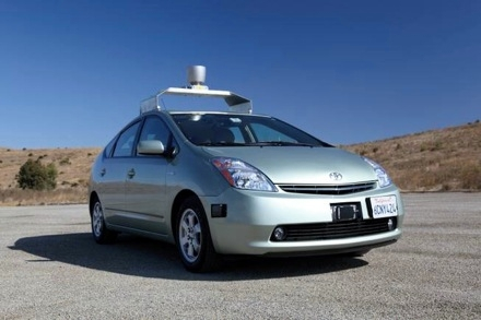 Toyota Prius с автономным управлением вышла на дороги Невады