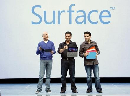 Новый игровой планшет дополнит семейство Microsoft Surface