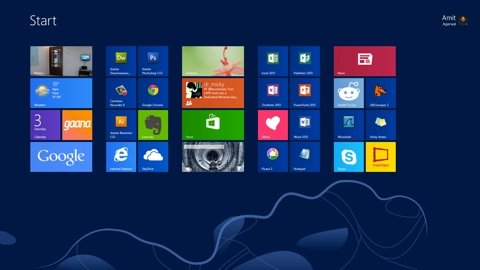 В новой Windows появится возможность изменять размер плиток