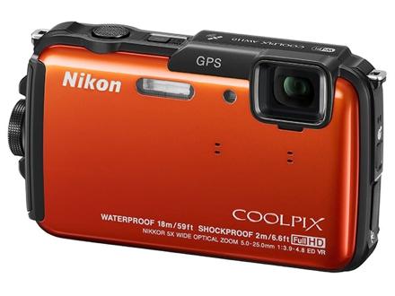 Защищенная камера Nikon Coolpix AW110
