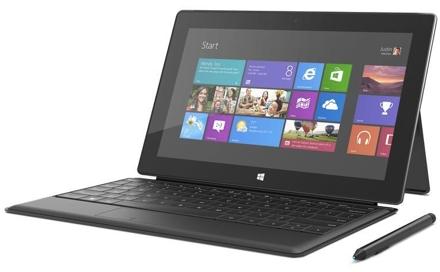 Microsoft Surface Pro с клавиатурой-обложкой Type Cover