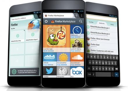 Объявлено о широкой рыночной поддержке Firefox OS