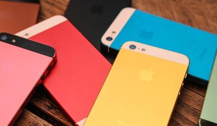 iPhone 5S выйдет в нескольких цветах