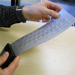 Гибкая клавиатура с обратной связью от Strategic Polymers