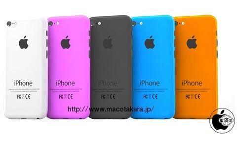 Дешевая модель iPhone в корпусе пяти цветов