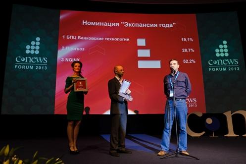 Nginx наградили за начало коммерциализации популярного веб-сервера