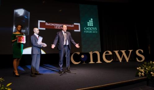 «Аэрофлот» наградили статуэткой CNews Awards за создание высокотехнологичного ЦОДа