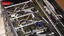 Выставка суперкомпьютерной техники закончилась огненным шоу