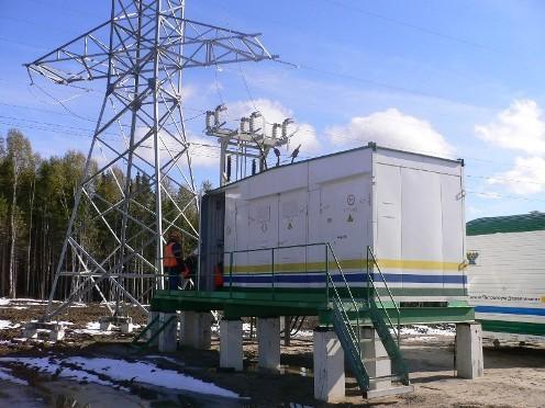 Трансформаторная подстанция производства екатеринбургского завода