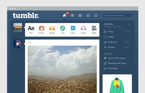 Tumblr оказался в реестре запрещенных сайтов