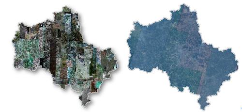 Наборы РПД10 (слева) и РПД50 (справа). Московская область