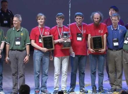 Первые на  чемпионате мира по программированию