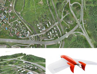 Аэрофотосъемка Томска, сделанная с помощью российского 2,3-кг БПЛА