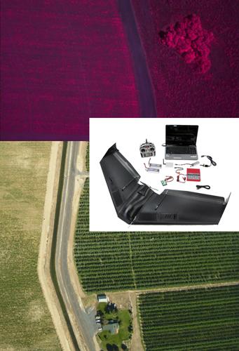 Аэрофотосъемка, сделанная с помощью 1,8-кг БПЛА Zephyr2