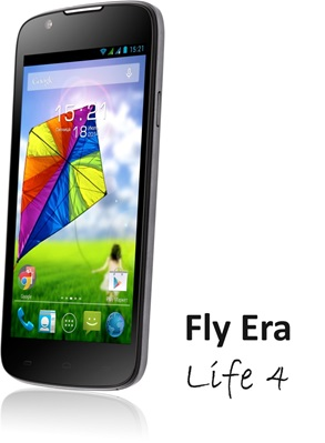 Fly расширил линейку бюджетных смартфонов ERA Nano