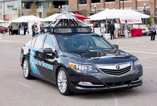 Honda представила свой беспилотный автомобиль