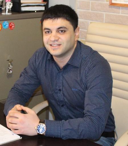 Месроп Юсуфьянц, начальник отдела УЭК Центра информационных технологий Республики Северная Осетия – Алания