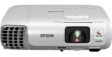 Epson представила новую линейку портативных проекторов для бизнеса и образования