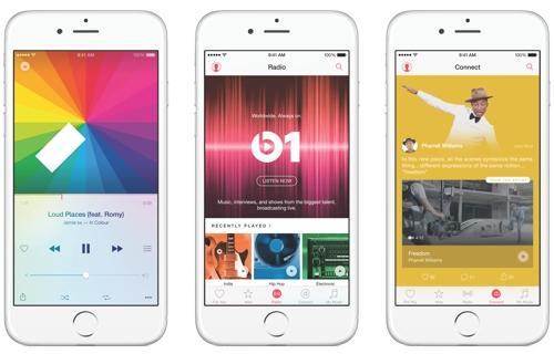 Приложение Apple Music со встроенной соцсетью