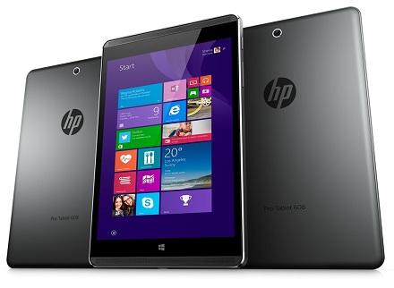 Pro Tablet 608 — первый планшет HP на базе Windows 10