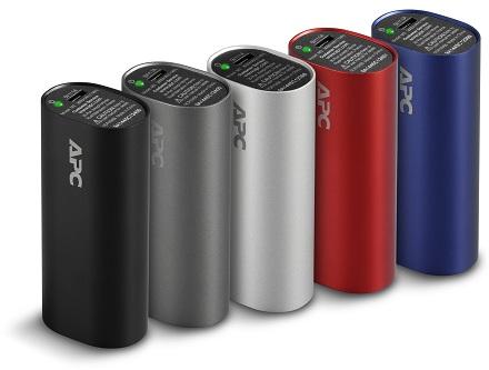 Новая серия портативных батарей APC Mobile Power Packs M3 емкостью 3000 мАч