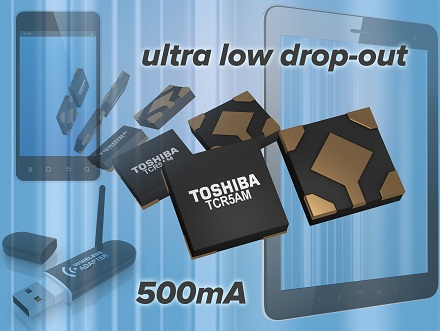 TCR5AM: новая серия ИС LDO-регуляторов на 500 мА с низким напряжением отпускания