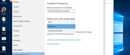 Корпоративная версия Windows 10 не будет отправлять пользовательские данные в Microsoft