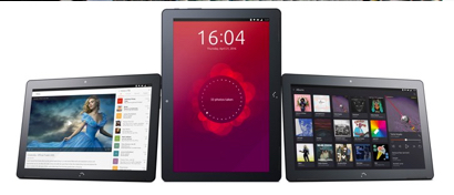 Выпущен первый в мире планшет на Linux Ubuntu
