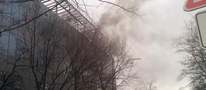В дата-центре хостера «Вконтакте» пожар. Фото