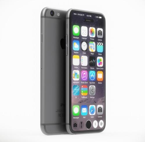 Концепт iPhone 7 сэкраном откромки докромки