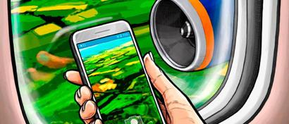 «Аэрофлот» разрешил не выключать в полете мобильники