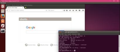 Ubuntu заработала внутри Windows 10