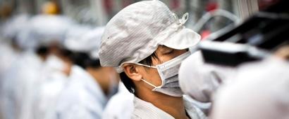 На заводе, собирающем iPhone и iPad, за неделю погибли двое сотрудников