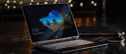 HP привезла в Россию сверхтонкий и могучий ноутбук. Фото