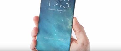 Через год на iPhone будут уничтожены кнопки