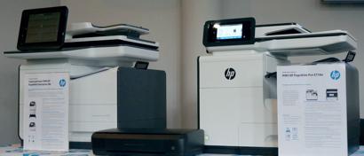 HP привезла в Россию принтеры нового типа: не лазерные, и не струйные