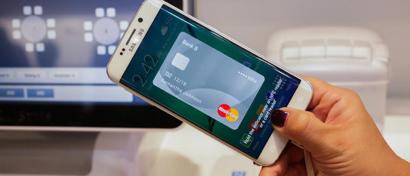 В России начинает работу бесконтактная система оплаты Samsung Pay