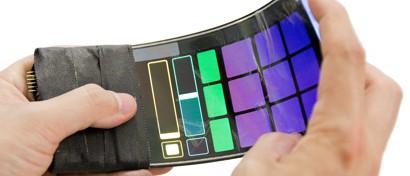 Создан гибкий смартфон. Видео