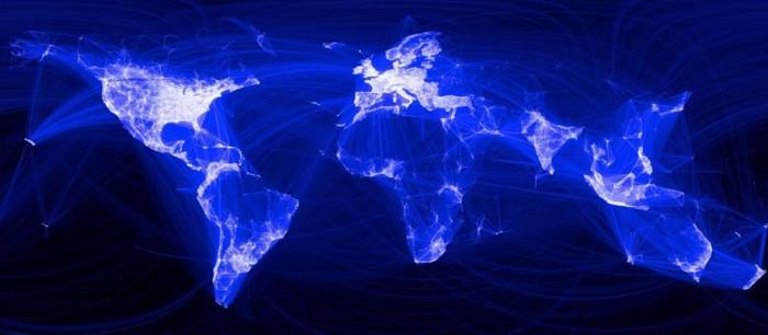 «Тепловая карта» мировой Сети