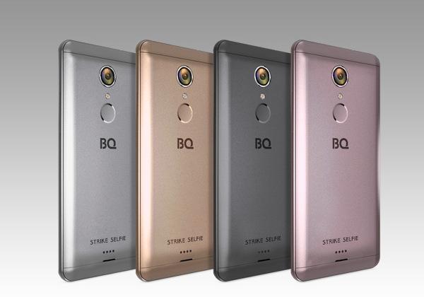 Смартфон BQS-5050 Strike Selfie