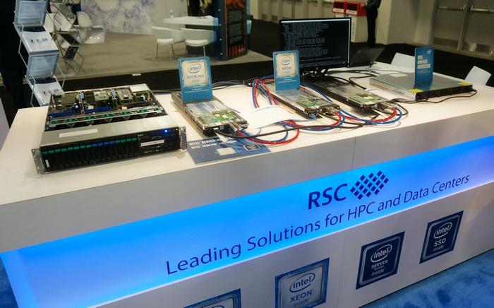 Экспозиция РСК навыставке SC16