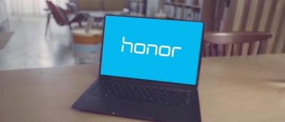 «Дочка» Huawei выпустит дешевый ультратонкий безрамочный ноутбук. Фото