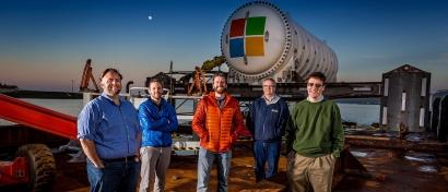 Microsoft затопил ЦОД в море на глубине 35 метров. Видео