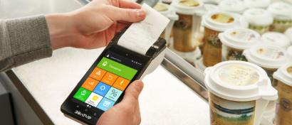 «Дочка» Сбербанка выпустила «умную» кассу размером со смартфон и поддержкой бесконтактной оплаты