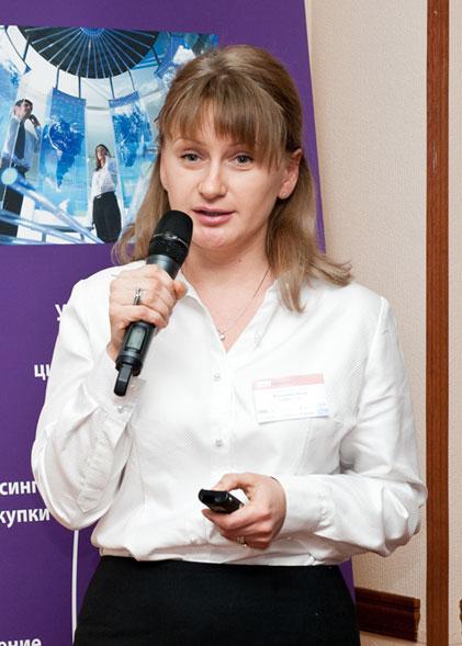 Инна Волынец, коммерческий директор группы  компаний «Сервис Плюс».