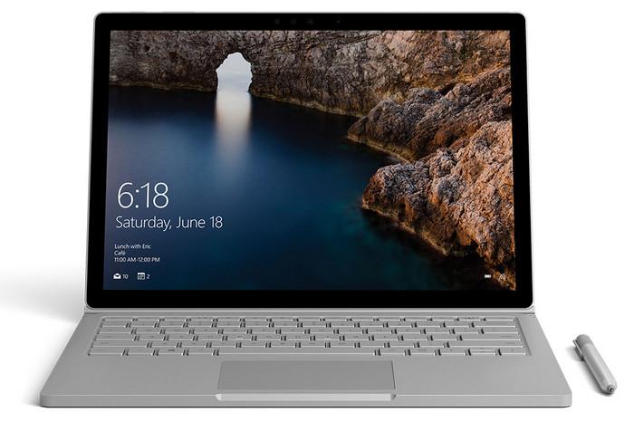 Новый тип ноутбуков Surface Book отMicrosoft будет классическим