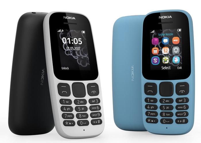 Обновленная Nokia 105 в версии с одной SIM-картой