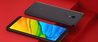 Xiaomi выпустила два дешевых безрамочных смартфона