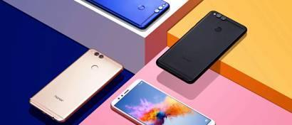 Huawei выпустила дешевый смартфон с дисплеем 18:9