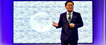 Samsung выпустила первый в мире 146-дюймовый модульный ТВ для дома. Видео